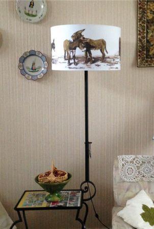 comment donner un petit coup de jeune au lampadaire blog mich le gervais. Black Bedroom Furniture Sets. Home Design Ideas